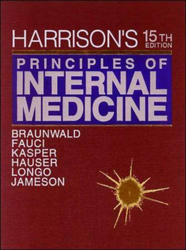 9780070072725: Harrison's Principles of Internal Medicine, 15th Edition