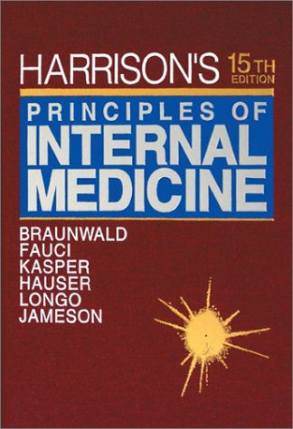 9780070072732: Harrison's Principles of Internal Medicine (Volume 1 ONLY of 2-Volume Set)