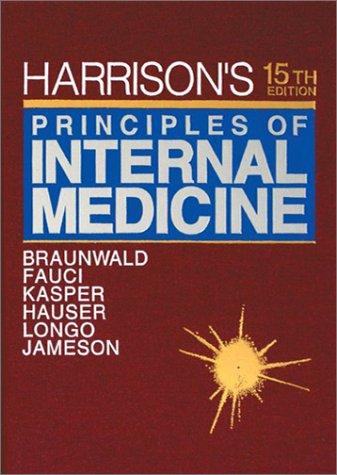 9780070072749: Harrison's Principles of Internal Medicine: 002