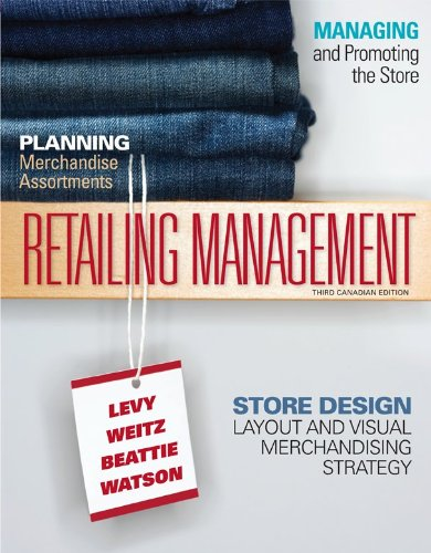 Retailing Management (CANADIAN ED): Levy