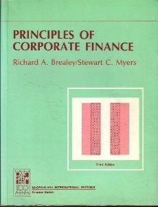 Principles of Corporate Finance (Third Edition)
