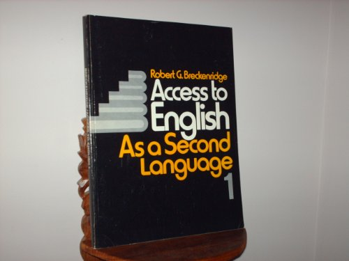 9780070073951: Access to English As a Second Language (Book One) (Bk. 1)