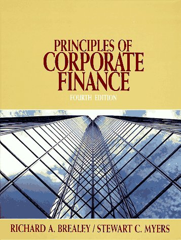 9780070074057: Principles of Corporate Finance (McGraw-Hill series in finance)