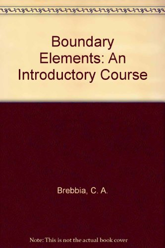 9780070074149: Boundary Elements: An Introductory Course