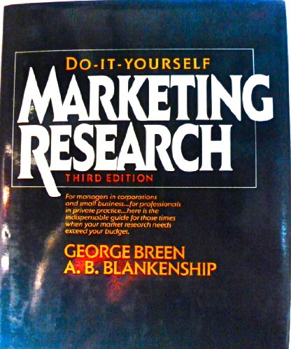 9780070074507: Do-It-Yourself Marketing Research