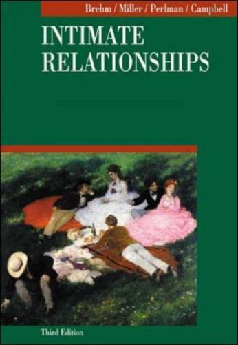 9780070074521: Intimate Relationships (Social Psychology)