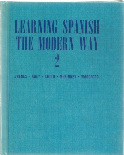 9780070075580: Learning Spanish the Modern Way 2