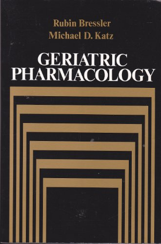 9780070076600: Geriatric Pharmacology