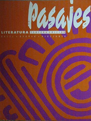 9780070076655: Pasajes: literatura
