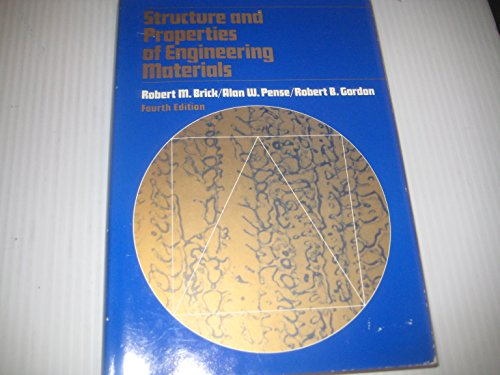 9780070077218: Structure and Properties of Engineering Materials (Mcgraw-Hill Series in Materials Science and Engineering)