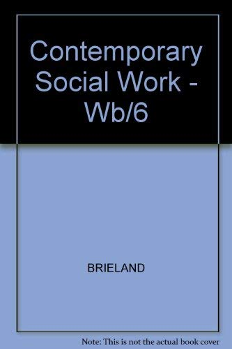 9780070077690: Contemporary Social Work - Wb/6