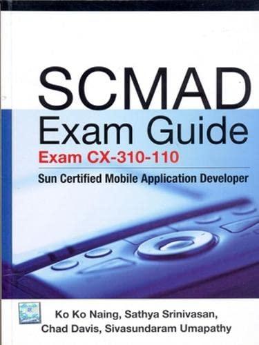 9780070077881: SCMAD Exam Guide: Exam CX-310-110