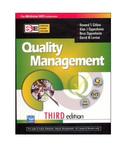 9780070078062: Quality Management (SIE)