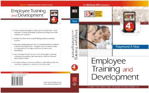 9780070078079: Employee Training and Development