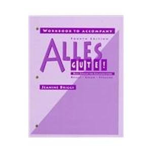 9780070078666: Alles Gute: Basic German for Communication (Workbook)