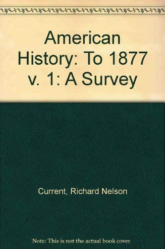9780070079571: American History: A Survey (Vol. II)