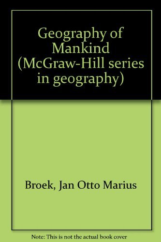 9780070080126: A geography of mankind (McGraw-Hill series in geography)
