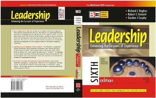 9780070080713: Leadership: Enhancing the Lessons of Experience