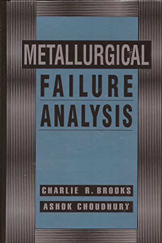 9780070080782: Metallurgical Failure Analysis