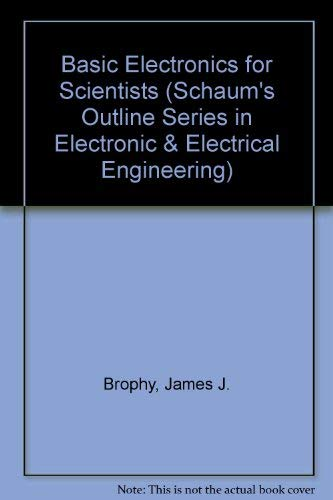 9780070081475: Basic Electronics for Scientists
