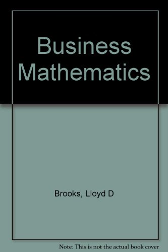 9780070081666: Business Mathematics