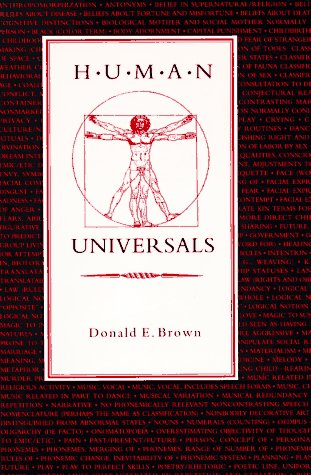 Human Universals: Donald E. Brown