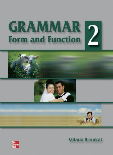 9780070082311: Grammar Form and Function 2 Student Book