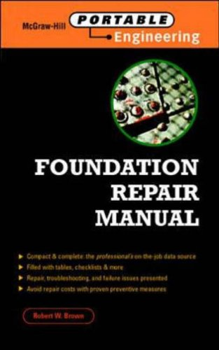 9780070082441: Foundation Repair Manual (McGraw-Hill Portable Engineering)