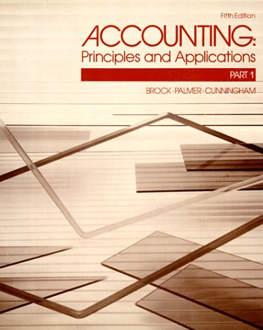 Accounting: Basic Principles: Horace R. Brock,