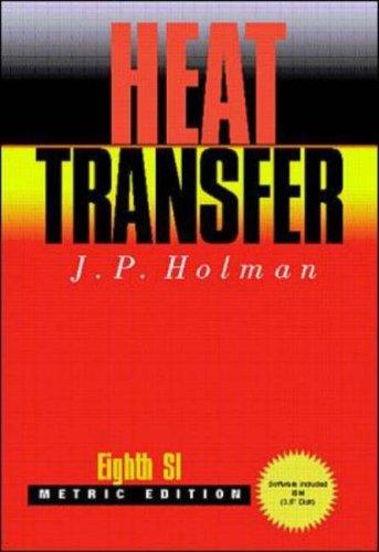 9780070083004: Heat Transfer: SI Version