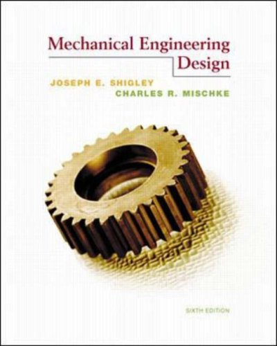 9780070083035: Mechanical Engineering Design
