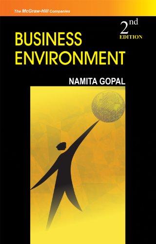 Business Environment (Second Edition): Namita Gopal