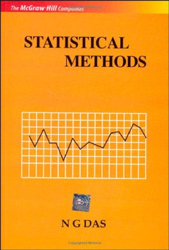 Statistical Methods (Combined Vol), 1St Edn: Das
