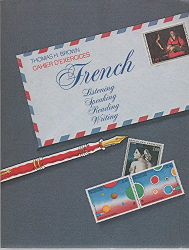 9780070084124: Cahier d'exercices, French, listening, speaking, reading, writing