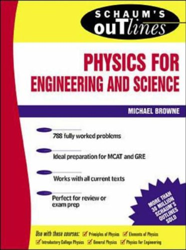 9780070084988: Schaum's Outline of Physics for Engineering and Science (Schaum's Outline Series)