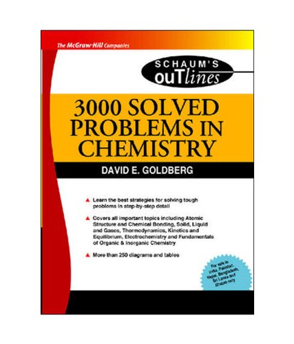 9780070085312: 3000 Solved Problems in Chemistry (SIE) (SOS)