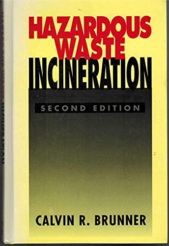 9780070085954: Hazardous Waste Incineration