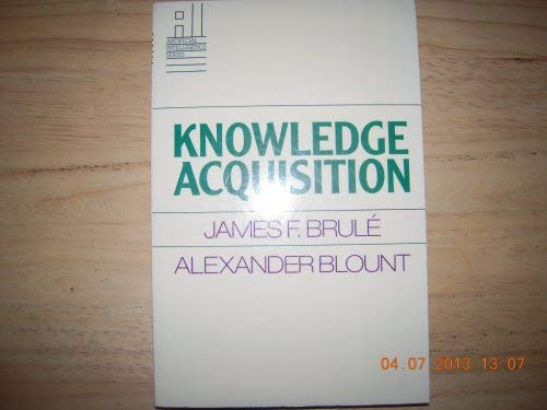 9780070086005: Knowledge Acquisition (Artificial Intelligence Series)