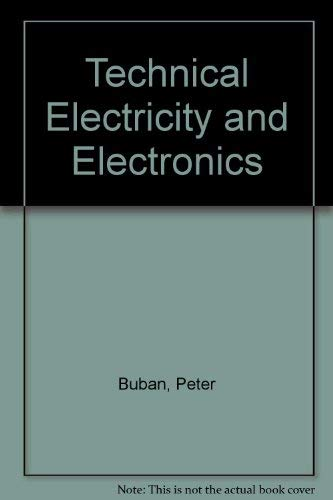 9780070086395: Technical Electricity and Electronics (McGraw-Hill publications in industrial education)