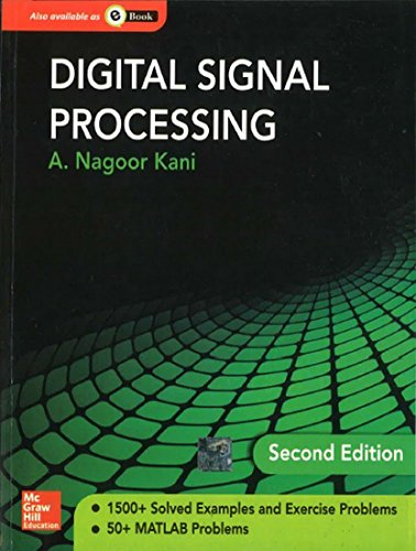 Digital Signal Processing (Second Edition): A. Nagoor Kani