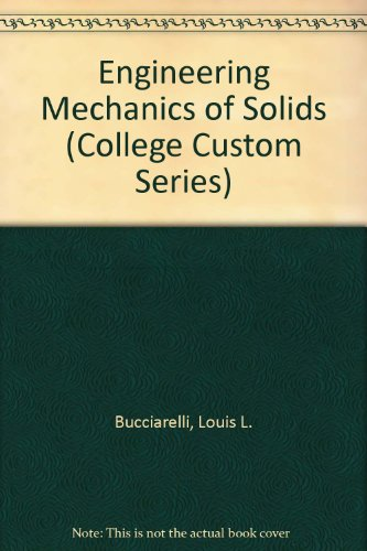 9780070087002: Engineering Mechanics of Solids (College Custom Series)