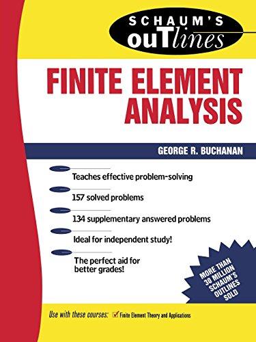 9780070087149: Schaum's Outline of Finite Element Analysis (Schaums' Outline Series)
