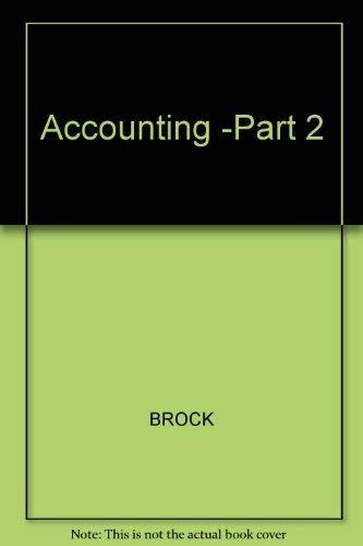 9780070087392: Accounting: Principles and Applications
