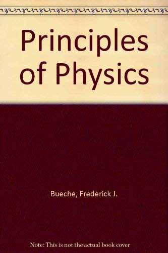 9780070088252: Principles of Physics