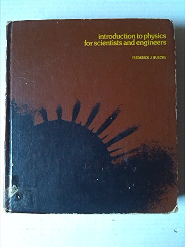 9780070088337: Introduction to Physics for Scientists and Engineers