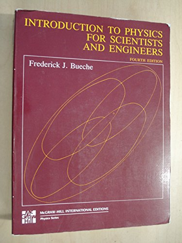 9780070088368: Introduction to Physics for Scientists and Engineers
