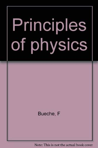 9780070088481: Principles of physics