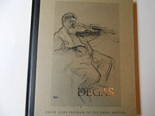 9780070088603: Edgar Degas (Color slide program of the great masters)