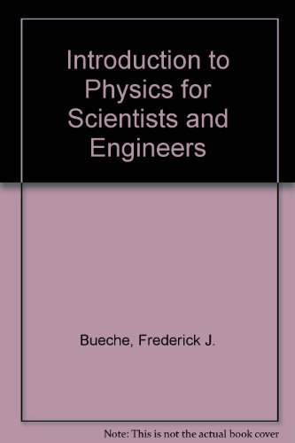 9780070088719: Introduction to Physics for Scientists and Engineers