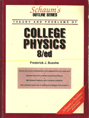 9780070088740: Schaum's Outline of Theory and Problems of College